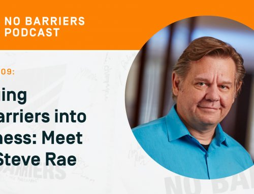 Podcast: Bringing No Barriers into Business — Meet SVP Steve Rae